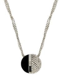 Giorgio Armani - Metallic Necklace - Lyst