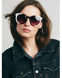 Free People - Natural Abbey Road Sunglasses - Lyst