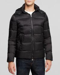 85587b1e35c7 Lyst - Michael Kors Hooded Down Jacket in Black for Men