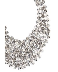 Coast - Metallic Bella Beaded Collar Necklace - Lyst