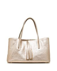 Stuart Weitzman - Natural The Ironytass Tote - Lyst