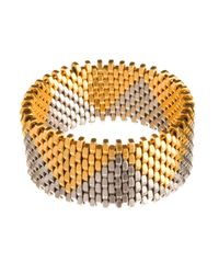 Alice Menter - Metallic Christie Cuff - Lyst