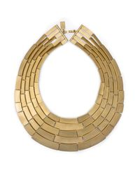 Kelly Wearstler | Metallic Malak 5 Row Necklace | Lyst
