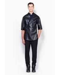 3.1 Phillip Lim - Black Exclusive: Judo Shirt Jacket for Men - Lyst