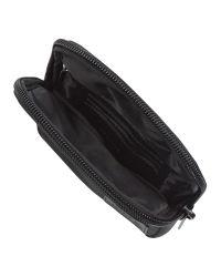Lacoste - Black Medium Messenger Bag for Men - Lyst