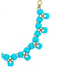 BaubleBar | Blue Pinwheel Collar | Lyst