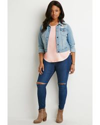Forever 21 | Pink Classic Tee | Lyst