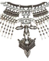 H&M | Metallic Rigid Necklace | Lyst