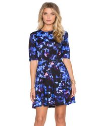 McQ | Multicolor Long Sleeve Flirty Dress | Lyst