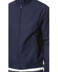 Fred Perry - Blue Harrington Jacket for Men - Lyst