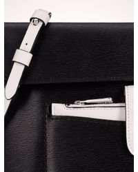 Lauren by Ralph Lauren - Black Davenport Flat Cross-body Bag - Lyst