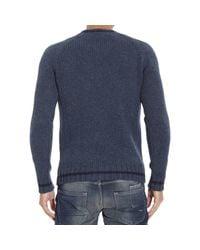 Etro - Blue Men's Sweater for Men - Lyst