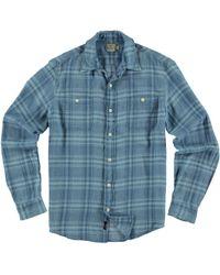 Faherty Brand - Blue Seasons Workshirt for Men - Lyst