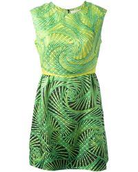 Peter Pilotto - Green Gia Dress - Lyst