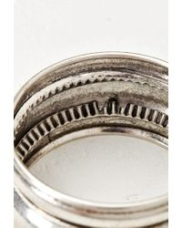 Forever 21 Metallic Tiered Bangle