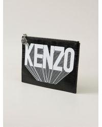 KENZO | Yellow '' Clutch | Lyst