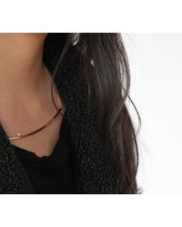 Jenny Bird | Metallic Maigret Swing Necklace | Lyst
