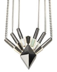 Eddie Borgo - Metallic Horus Necklace - Lyst
