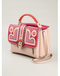 Paula Cademartori - Multicolor Petite Faye Leather Shoulder Bag - Lyst