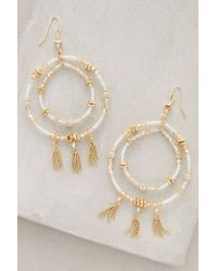 Anthropologie | Metallic Seaholm Hoops | Lyst