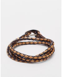 Paul Smith | Brown Wraparound Bracelet for Men | Lyst