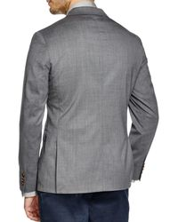 Michael Kors - Gray Trop Wool Regular Fit Blazer for Men - Lyst
