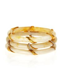 Kara Ross | Metallic Set Of 3 Stacking Resin Bangles | Lyst