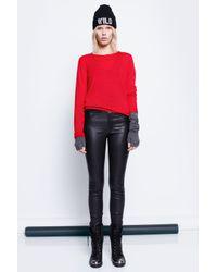 Zadig & Voltaire - Red Sweater Gwendal Bis M-Rec - Lyst