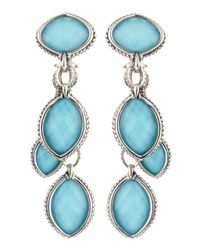 Lagos | Blue Venus Turquoise Doublet Earrings | Lyst