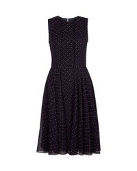 Hobbs | Blue Isla Dress | Lyst