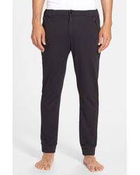 Gents - Black Knit 'sport' Pants for Men - Lyst