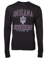 47 Brand - Gray Men's Long-sleeve Indiana Hoosiers T-shirt for Men - Lyst