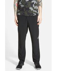 Athletic Recon - Black 'combat' Sretch Woven Training Pants for Men - Lyst
