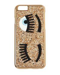 Chiara Ferragni - Metallic Flirting Glitter Iphone 6 Case - Lyst