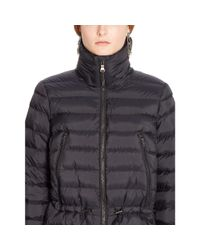 Ralph Lauren - Black Mockneck Down Jacket - Lyst