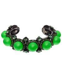 Lanvin | Green Bahia Cuff Bracelet | Lyst
