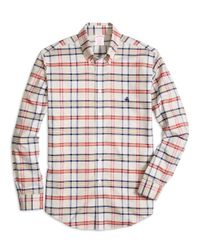 Brooks Brothers | Multicolor Non-iron Madison Fit Tartan Sport Shirt for Men | Lyst