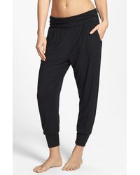 DKNY | Black 'citi Essentials' Capris | Lyst