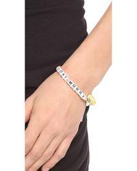 Venessa Arizaga - Multicolor Palm Beach Bum Bracelet - Lyst