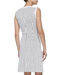 O'2nd - White Parker Striped A-line Dress - Lyst