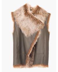 Veronica Beard - Brown Jessup Vest - Lyst