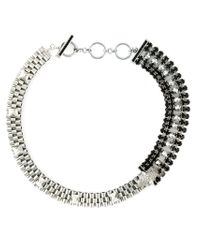 Iosselliani - Metallic 'Metal Instinct' Cheetah Necklace - Lyst