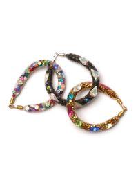 MZ Wallace - Multicolor Peppercotton Bracelet Gold Multi - Lyst