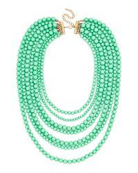 BaubleBar - Green Bold Beaded Strands - Lyst
