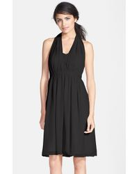 Jenny Yoo | Black 'keira' Convertible Strapless Chiffon Dress | Lyst