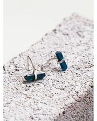 Free People | Metallic Cosmos Ear Hugging Hoops | Lyst