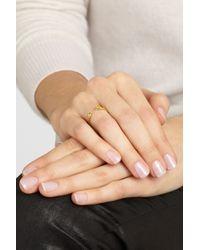Ana Khouri - Metallic Lucky 18karat Gold Diamond Ring - Lyst