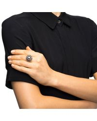 Lulu Frost - Black Brilliant Ring - Lyst