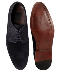 ASOS | Blue Asos Made in England Micro Sole Saddle Shoes for Men | Lyst