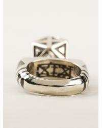 KTZ | Metallic Berbere Ring for Men | Lyst
